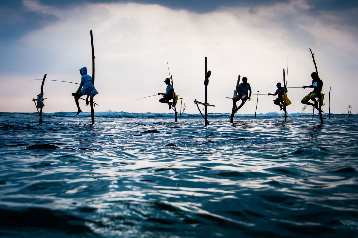 Sri-Lanka-Stick-Fishermen