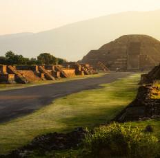 Teotihuacan Sunrise